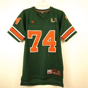 Authentic Miami Hurricane Jersey Size Youth 16-18